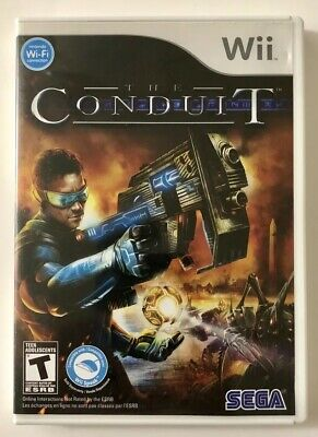 The Conduit (Nintendo Wii, 2009) FPS Game & Manual FREE SHIPPING!