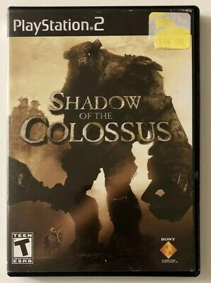 Shadow of the Colossus (Sony PlayStation 2, 2005) PS2 Complete FREE SHIPPING!