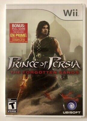 Prince of Persia: The Forgotten Sands (Nintendo Wii, 2010) Game FREE SHIPPING!