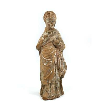 A Hellenistic Statuette of a young Girl, ca. 3rd - 1st century BCE