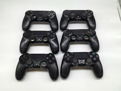 6 Pcs Sony PLAYSTATION 4 PS4 Dualshock 4 Wireless Joystick Nero,