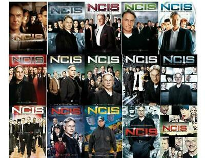 NCIS Complete Series All Seasons 1-15 DVD Set Collection TV Show free shipping
