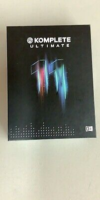 Native Instruments Komplete 11 Ultimate 24198 500gb New Factory Sealed Free Shpg