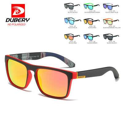 DUBERY Mens Womens Vintage Polarized Sunglasses Driving Shades UV400 Eyewear Hot