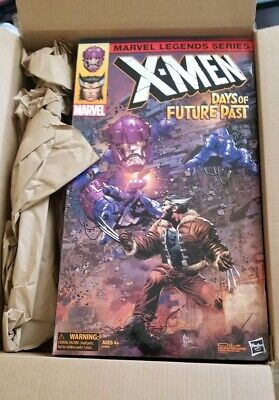 Electronic New Sealed Marvel Legends Days of Future Past Wolverine Sentinel