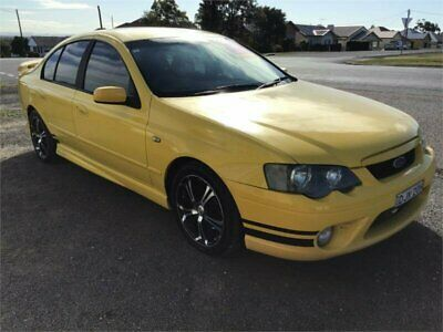2005 Ford Falcon BA Mk II XR6 Yellow Automatic A Sedan