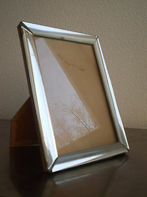 Photo Frame Glass Mirror Silver Design Xx ° S Vintage Silver Glass Frame 13x18