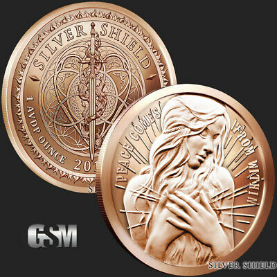 1 oz Copper Round - Peace Within