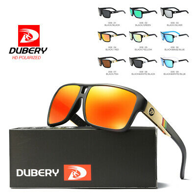 DUBERY Men Vintage Polarized Sunglasses Driving Fishing Shades Eyewear UV400 hOT