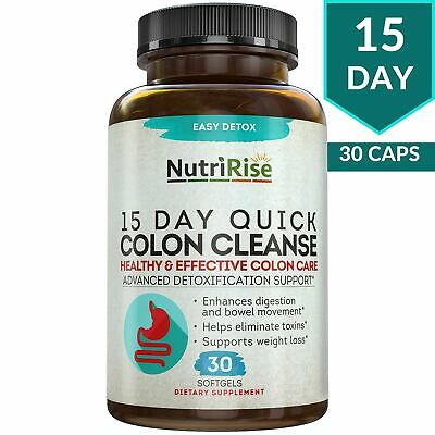 COLON CLEANSER PLATINUM 100% Extract Detox Cleanse Weight Loss