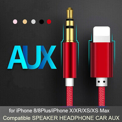 1pc 3.5mm Aux Audio Cable Compatible Adapter to Car/Home Stereo/Headphone