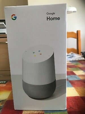 Google Home Smart Speaker White - Brand new, still sealed in box