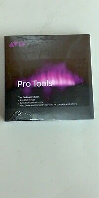 AVID PRO TOOLS 12 PERPETUAL License Activation Card & iLOK 9935-66068-00 **NEW**