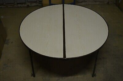 Ancienne Table Basse Tripode Formica Vintage 60 S Etat D Usage Japon