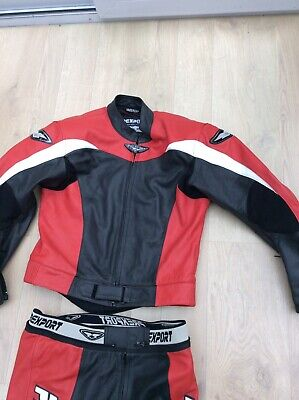 """2 Piece Sports Motorcycle Leathers Prexport 38"""""""