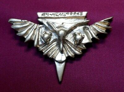 Star Trek TNG ROMULAN Gold Insignia Pin Badge Baldric Empire Bird Prey Warbird