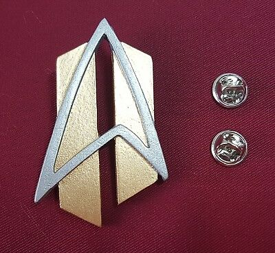 Star Trek The Next Generation ALL GOOD THINGS Communicator Pin Badge Combadge