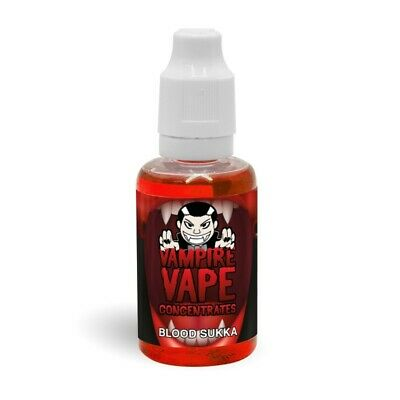 Blood Sukka Concentrate by Vampire Vape - Cherry, Menthol, Aniseed - DIY eliquid
