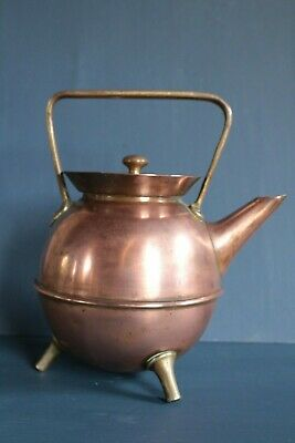 Christopher Dresser design Bentham and Froud copper teapot Arts and Crafts