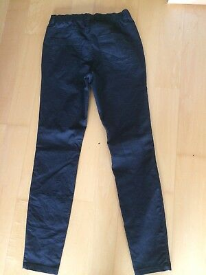 Damen Hose Jeans-Look Röhre Leggings Leggins Jeggings Treggings Skinny No 13518