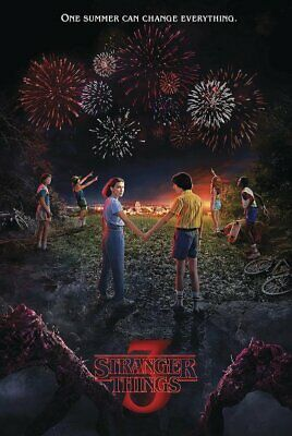 Stranger Things - Season 3  Fireworks 24 X 36 Poster