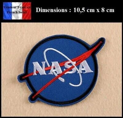 Écusson Brodé Thermocollant NEUF ( Patch Embroidered ) - NASA Espace Space