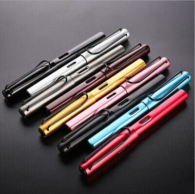 9 color Fountain Pen 0.38 mm Nib Student Business Calligraphy Gifts Copper Pen