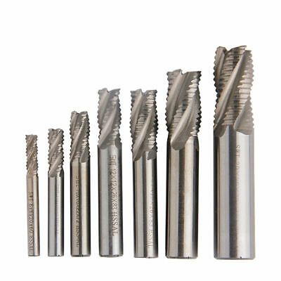 Kit End Mill Roughing Cutter Drilling Resistant Accessories Replacement