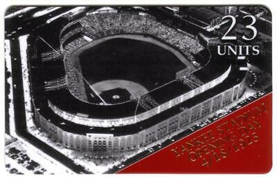 23u,$2. 'Yankee Stadium Opening Day 4/18/1923' # Print Proof Set of 2 Phone Card