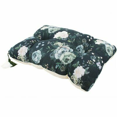 NEW CHILDRENS Large Muslin Pillow - Dark Peonies