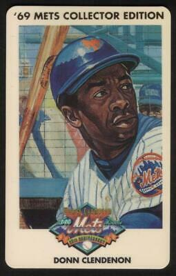 3m 1969 Champion Miracle Mets (25th Anniversary): Donn Clendenon Phone Card