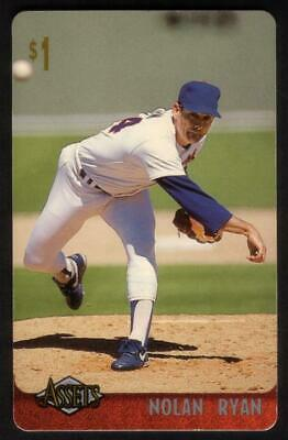 Assets '96 : $1. Nolan Ryan (Card #23 of 30) Phone Card