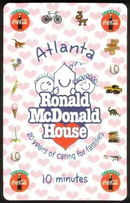 World of Coke / Ronald McDonald House (Issue #6). Set of 2 in Folder Phone Card