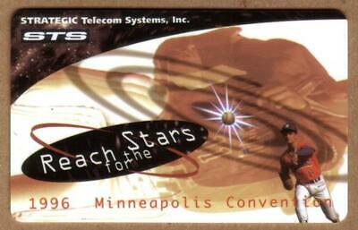 Reach For The Stars: Baseball - STS 1996 Minneapolis Convention Phone Card