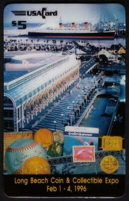 $5. & $10. Long Beach Expo #5 (02/96) (Matched Set of 2) Phone Card