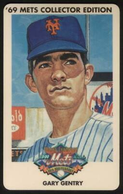 3m 1969 Champion Miracle Mets (25th Anniversary): Gary Gentry Phone Card