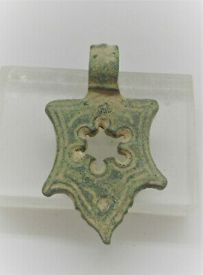 Ancient Byzantine Openwork Amulet Crusaders Jewelery Detector Finds