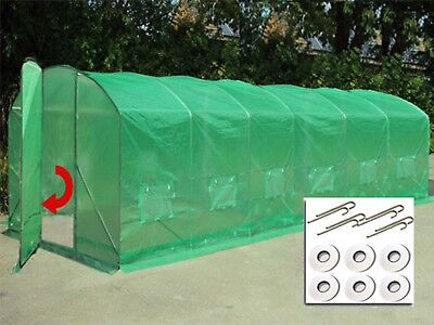3 Sizes Poly Tunnel Polytunnel Pollytunnel Polly Tunnel Greenhouse Green House