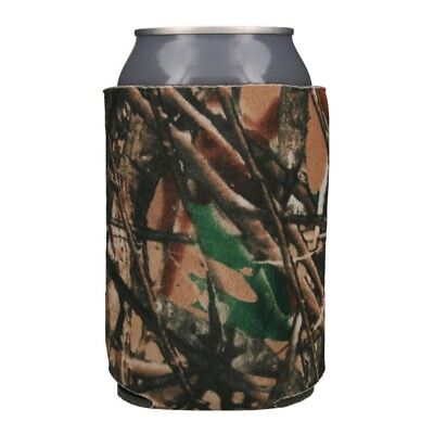 True Life Camo Can & Bottle Insulators 25 Blank Foam Can Coolers Coolies Koozies