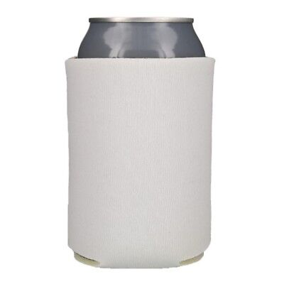 White Can & Bottle Insulators 25 Blank Foam Can Coolers Coolies Koozies