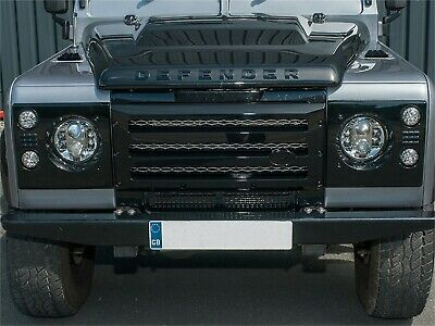 XS Enhancements Land Rover Defender Gloss Black Grille & Light Surround - DA1968