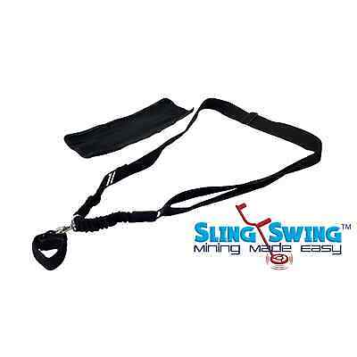 Sling Swing Universal Metal Detector Bungee Support Harness EZ Easy Swing Whites