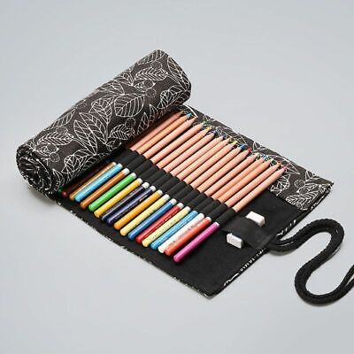 School Pencil Case Escolar Box Lovely Stationery Canvas Pen Roll Up Bags Sale