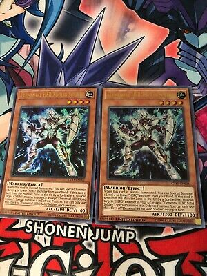 2X Elemental HERO Solid Soldier CT15-EN003 Ultra Rare NM/M Limited Ed Yu-Gi-Oh!