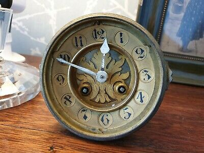 French mantel clock movement, S Marti & Cie, spares or repair, A15