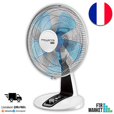 Rowenta VU2630F0 Ventilateur de Table Turbo Silence Extrême