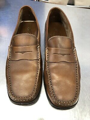 31f42116d1974 (Retail $525) TOD'S Men Size 9 City Gommino Brown Leather Loafer Driving Moc