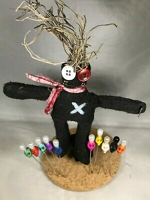 Real Voodoo doll + Real Voodoo pins! Authentic, Powerful Voodoo item, not a toy!