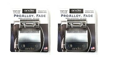 pack of 2 andis pro alloy fade blade #69130