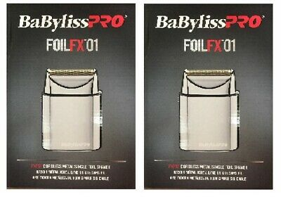Pack of 2 - Babyliss Single-Foil Metal Shaver